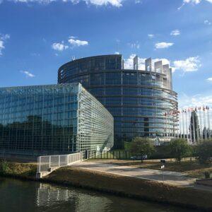 Parlament Europejski, Strasburg